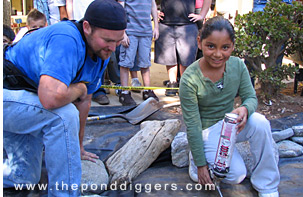 Ponds for Schools educates our future Pond Builders