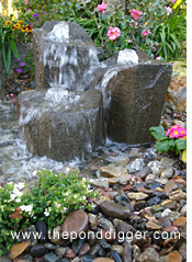 Small Size Rock Fountain